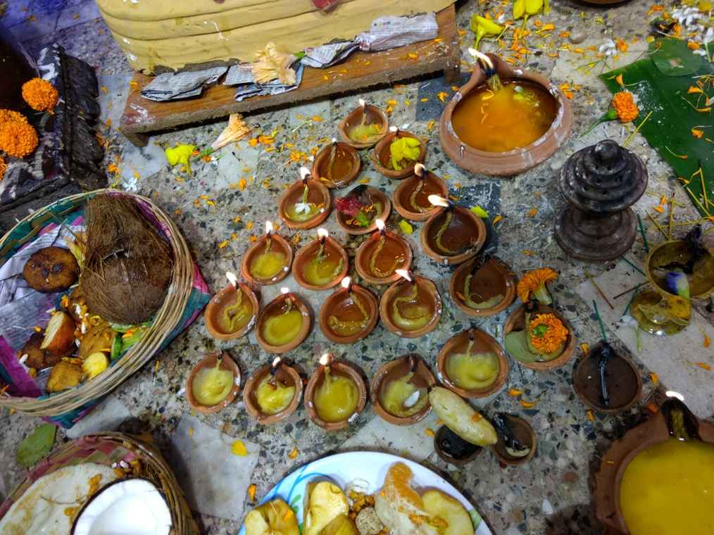 Offerings to Maa Khudurukuni