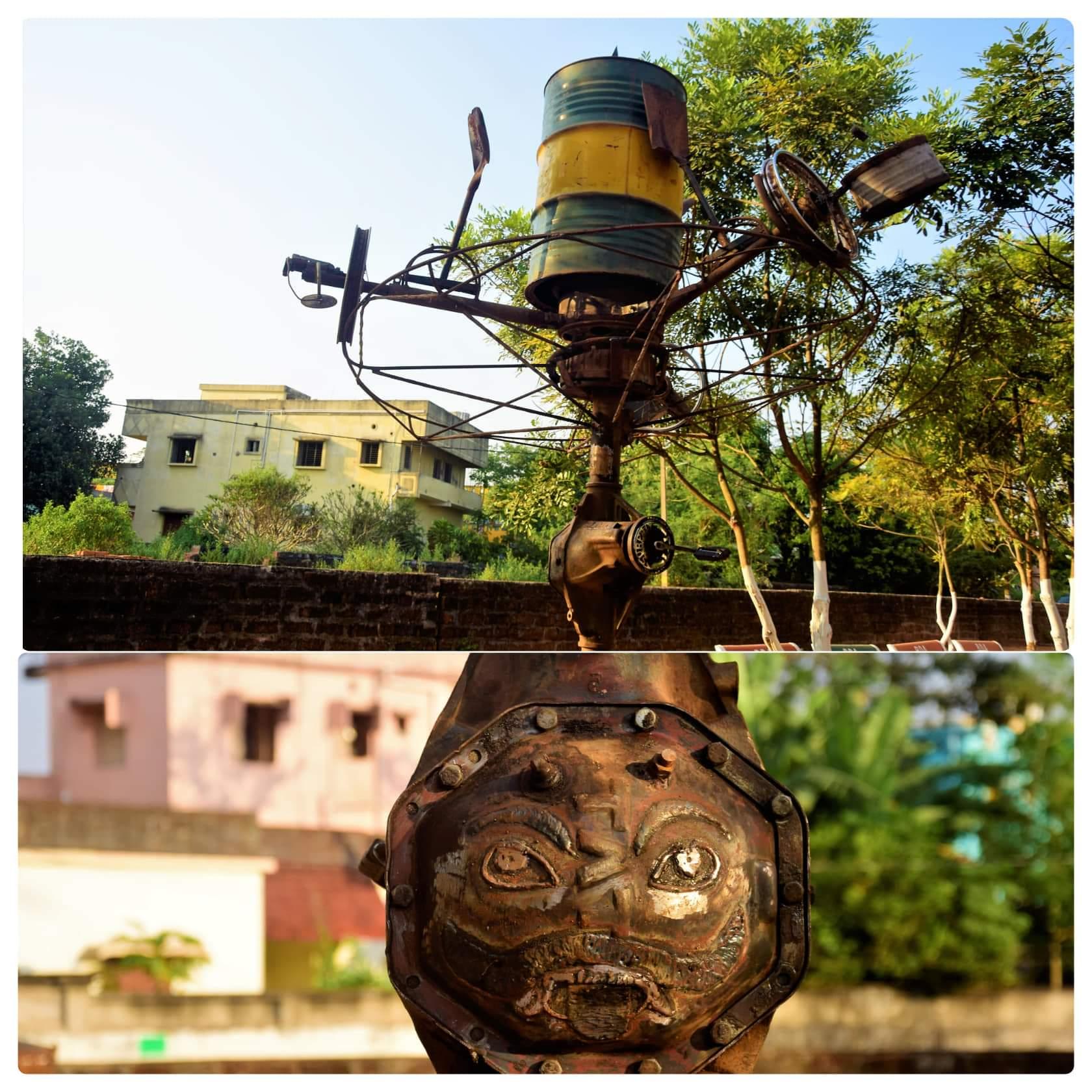 Bhubaneswar Open Air Museum - Drumming Paddle