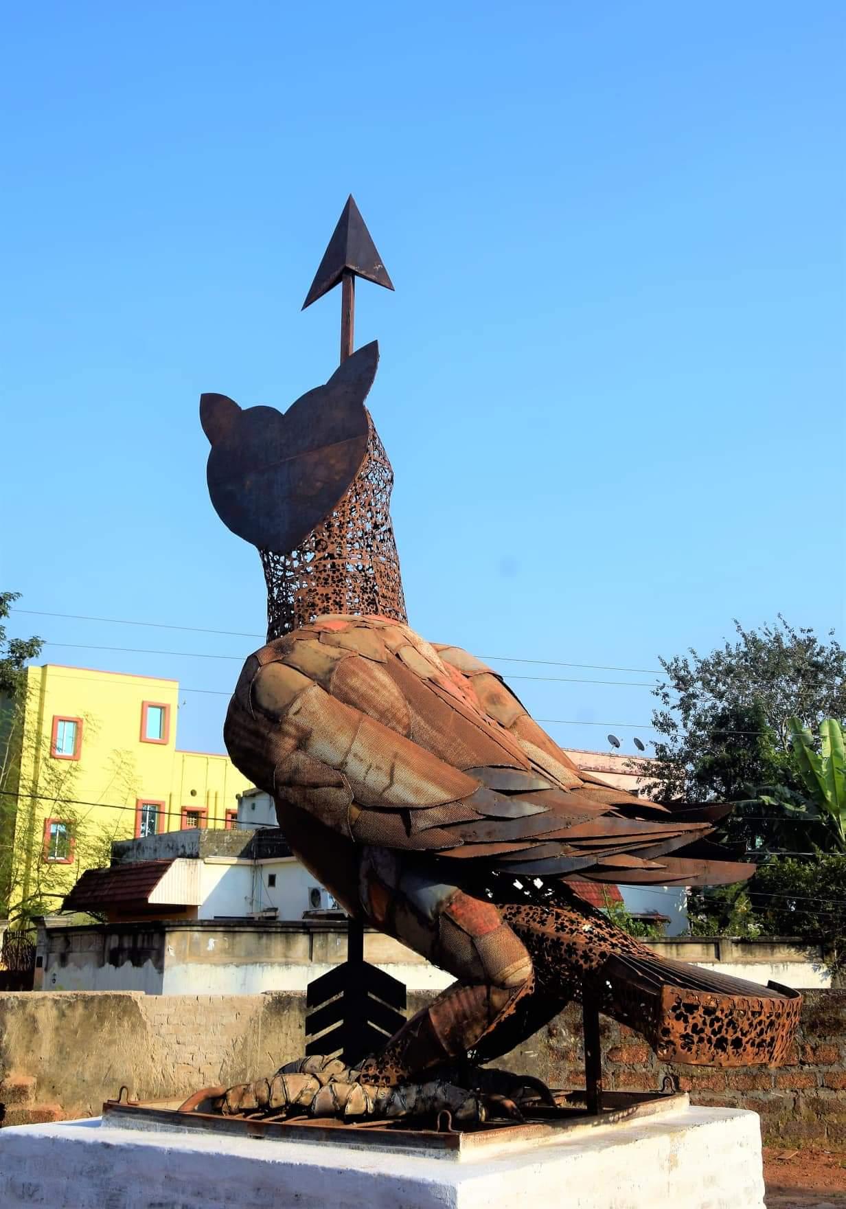 Bhubaneswar Open Air Museum - Owl